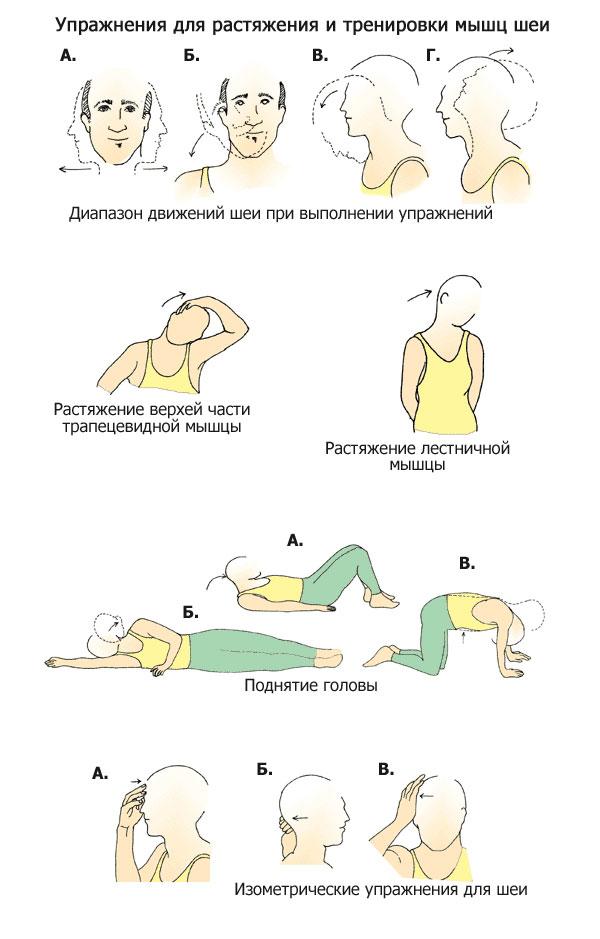 Цефалгия при остеохондрозе шейного отдела